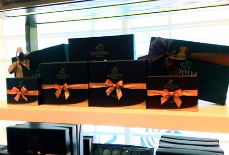 Coklat Godiva yang terkenal