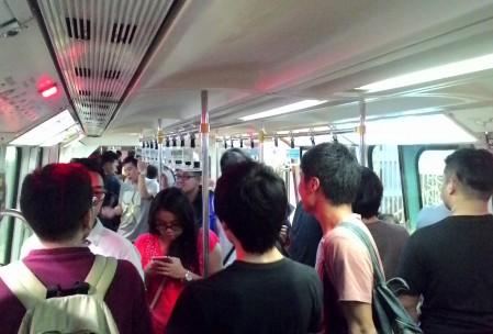 Suasana dalam monorail